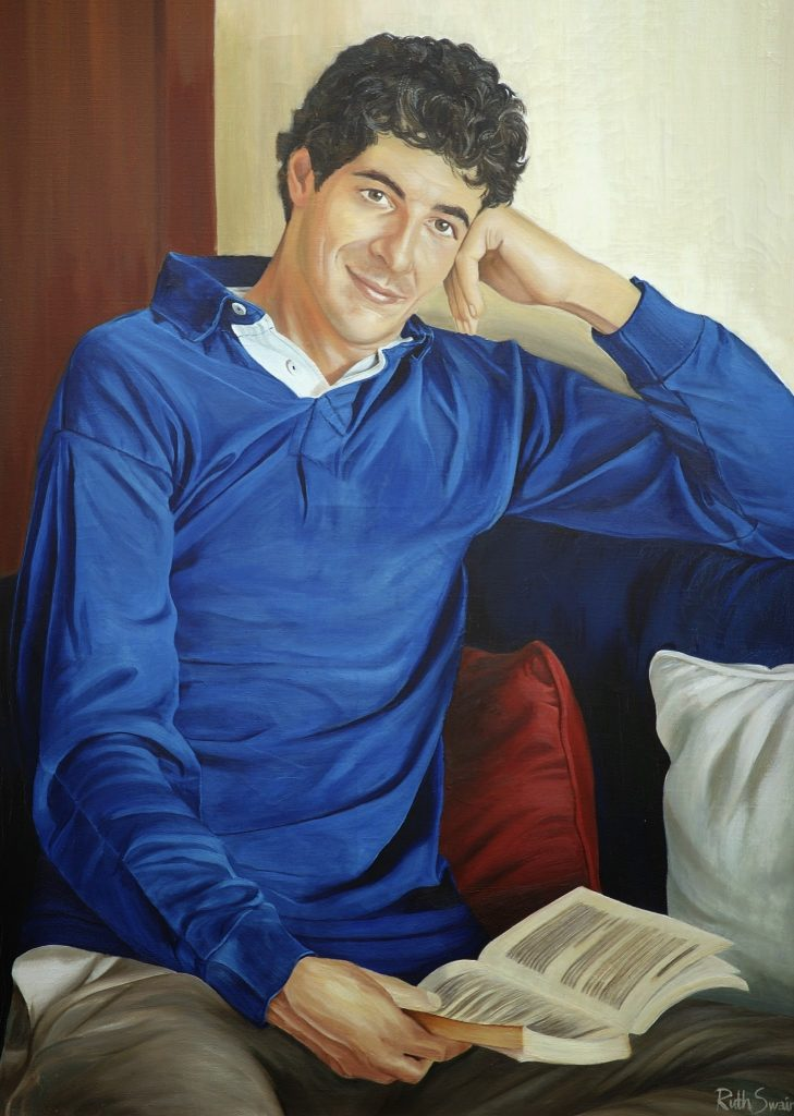 Patrick, Oil on Canvas 120 x 180 cms