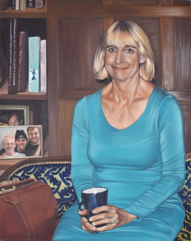 Debbie(Dr Waller) oil on canvas