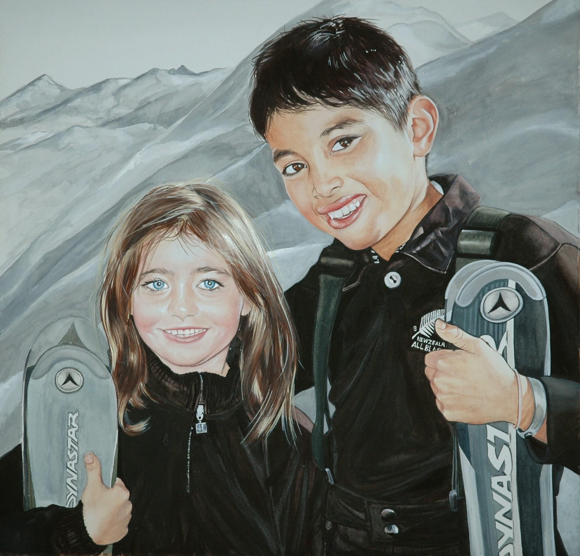 Natalie and Conrad